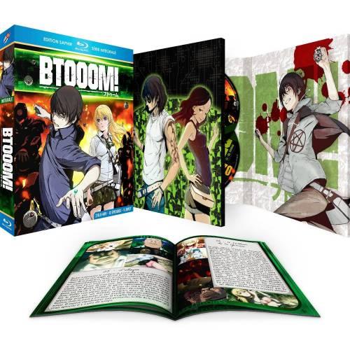Blu-ray - Btooom : L'intégrale - Edition saphir (Blu-ray)