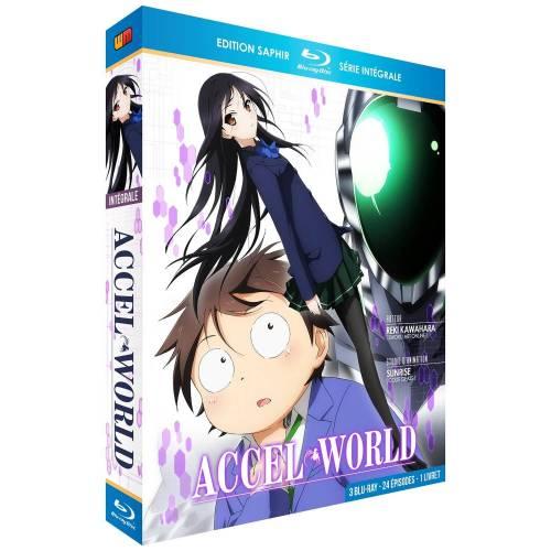 Blu-ray - Accel World : Intégrale - Edition Saphir / 3 Blu-ray + Livret (Blu-ray)