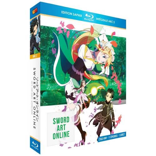 Blu-ray - Sword Art Online Arc 2 (ALO) - Edition Saphir (Blu-ray)