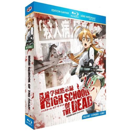 Blu-ray - High school of the dead : Intégrale - Edition saphir (Blu-ray)