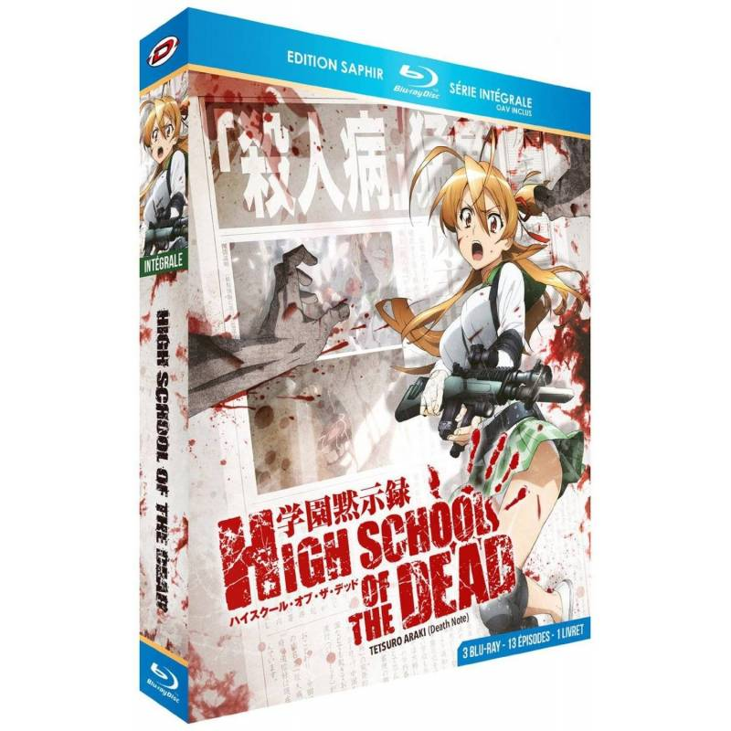 Blu-ray - High school of the dead : Intégrale - Edition saphir (Blu-ray)