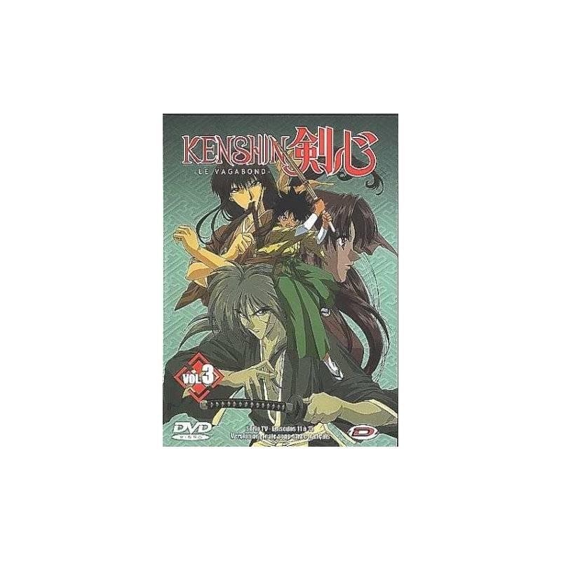 DVD - Kenshin le vagabond Vol. 3