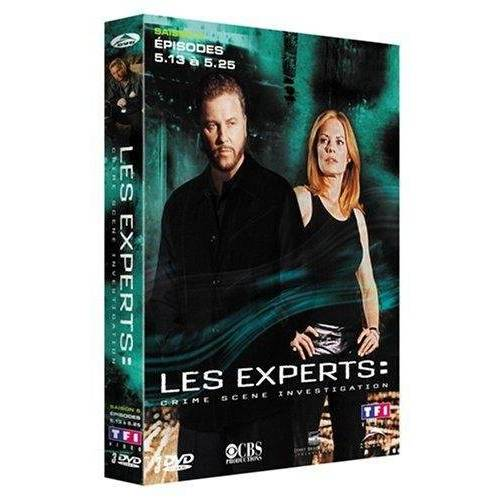 DVD - Les experts : Saison 5 - Partie 2