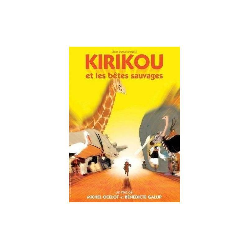 DVD - Kirikou et les bêtes sauvages