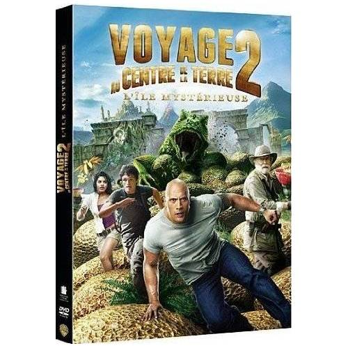 DVD - Voyage au Centre de la Terre 2 : l'Ile Mystérieuse
