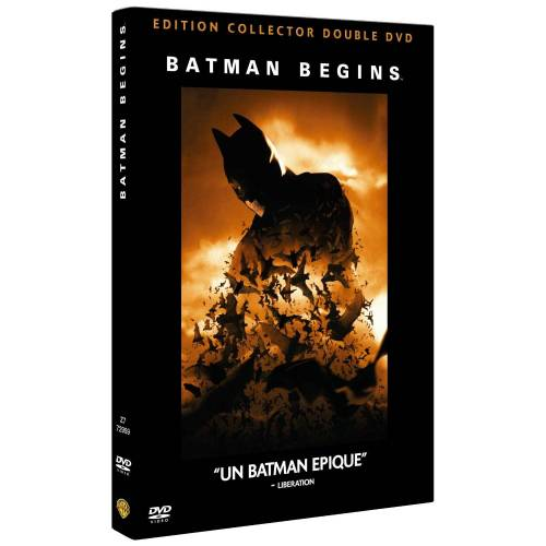 DVD - Batman begins - Edition collector / 2 DVD