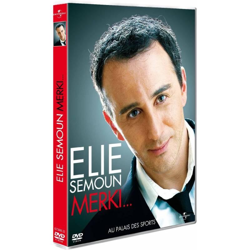 DVD - Elie Semoun : Merki...