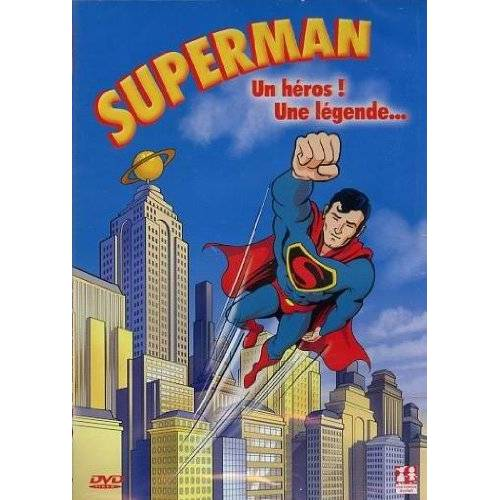 DVD - Superman un Heros une Légende