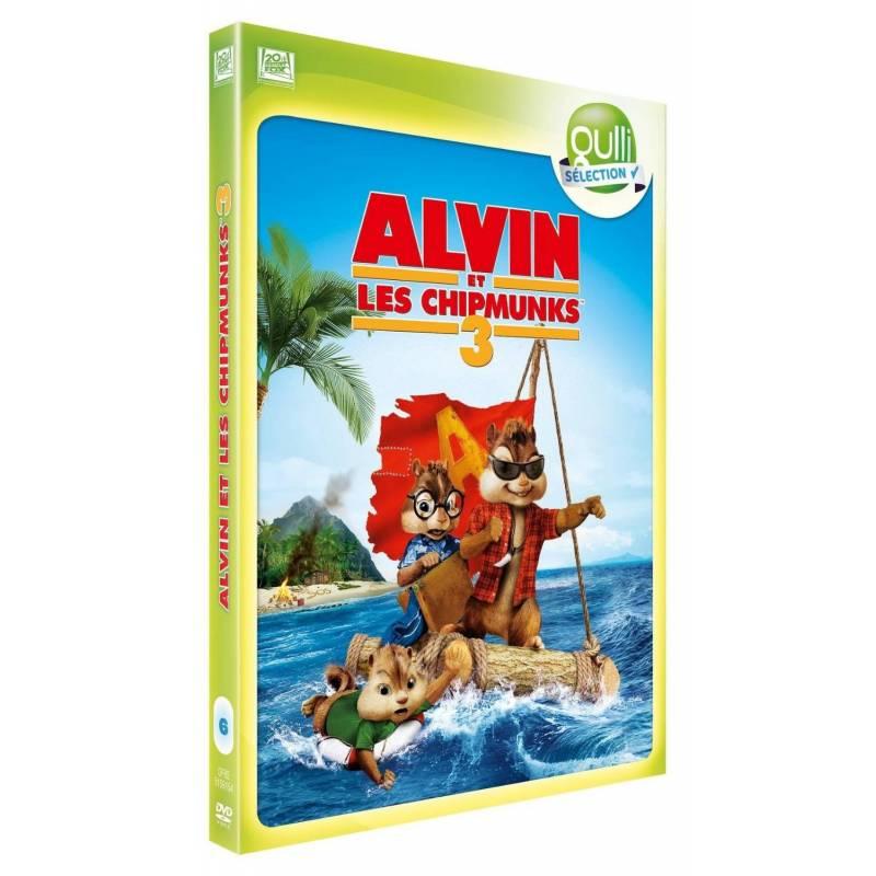 DVD - Alvin et les Chipmunks 3