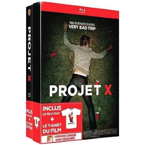 Blu-ray - Projet X et T-shirt