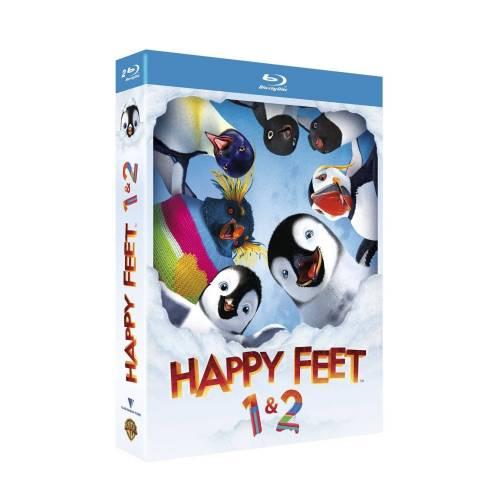 Blu-ray - Happy feet et Happy feet 2