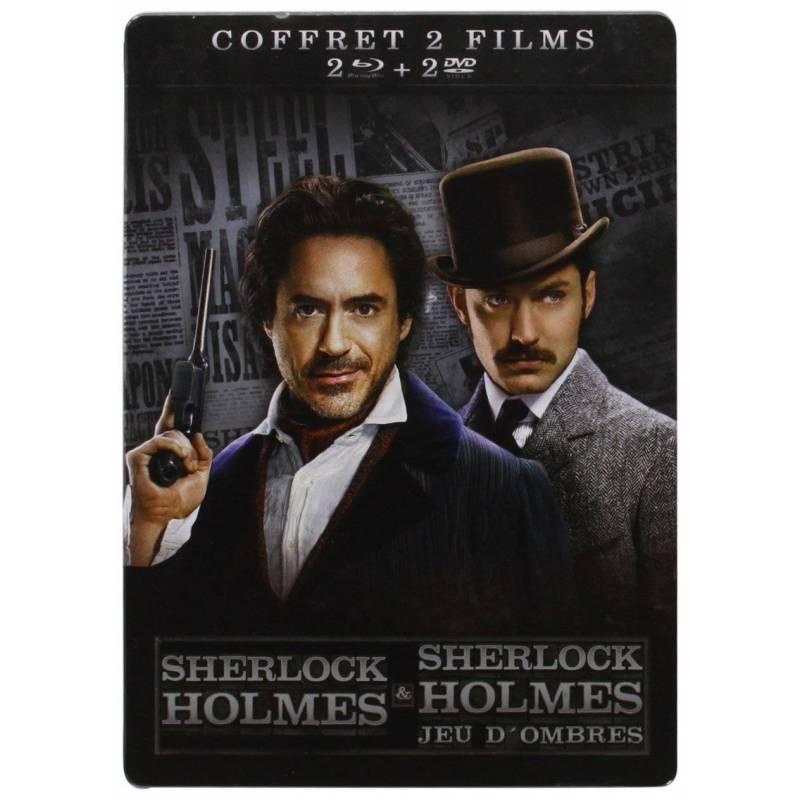 Blu-ray - Sherlock Holmes 1 & 2 (Blu-ray + DVD)