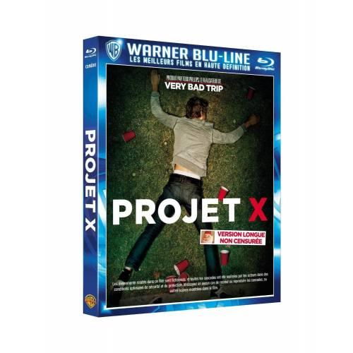 Blu-ray - Projet X - Version longue non censurée (Blu-ray)