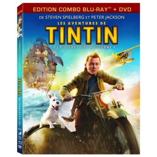 Blu-ray - Les aventures de Tintin : Le secret de la Licorne