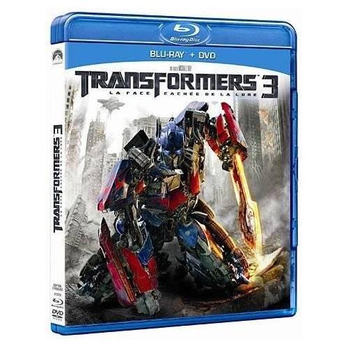 Blu-ray - Transformers 3 : La face cachée de la Lune (Blu-ray DVD)