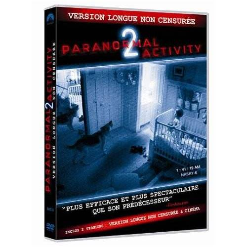 DVD - Paranormal Activity 2