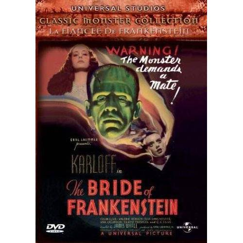DVD - La fiancée de Frankenstein