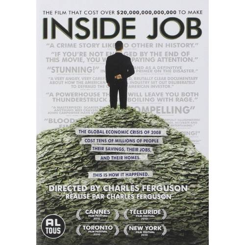 DVD - Inside Job : Les secrets de la crise