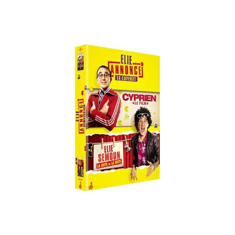 DVD - Coffret Elie Semoun / 3 DVD