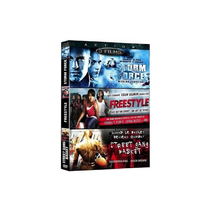 DVD - Storm Force - Mission sauvetage et Freestyle et Street Gang Basket