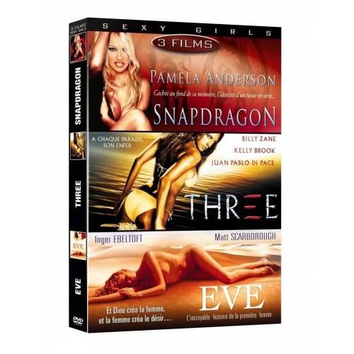 DVD - Sexy Girls - Coffret 3 films : Snapdragon,Three,Eve