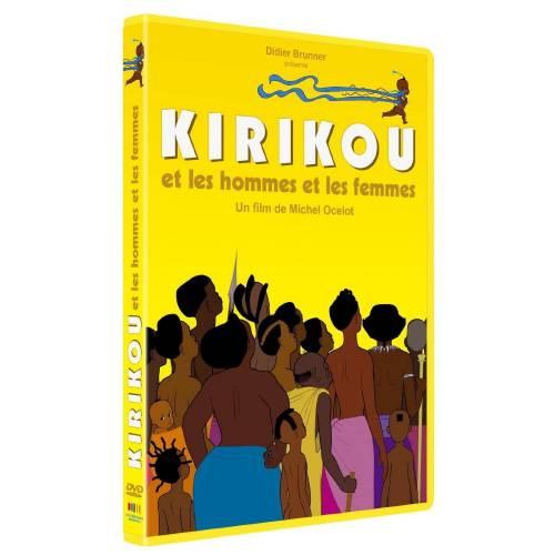DVD - Kirikou et les hommes et les femmes