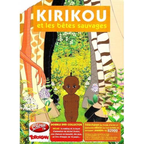 DVD - Kirikou et les bêtes sauvages - Edition collector