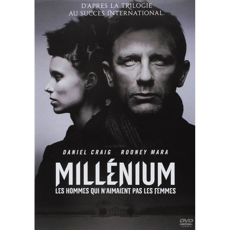 DVD - Millenium : les hommes qui n'aimaient pas les femmes