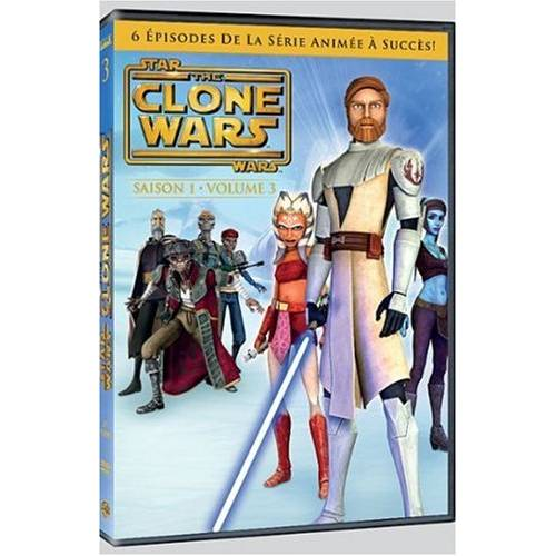 DVD - Star Wars - The clone wars (Série TV) : Saison 1 Vol. 3