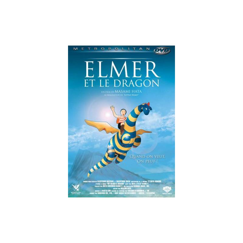 DVD - Elmer et le dragon