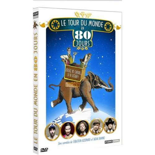 DVD - Le tour du monde en 80 jours