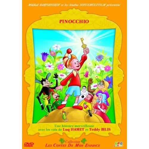 DVD - Les contes de mon enfance : Pinocchio