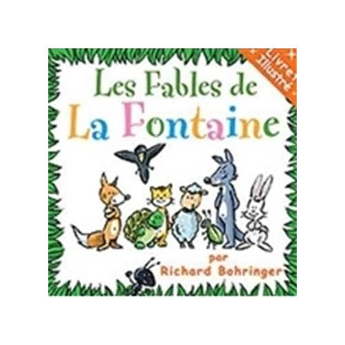 LES FABLES DE LA FONTAINE - CD