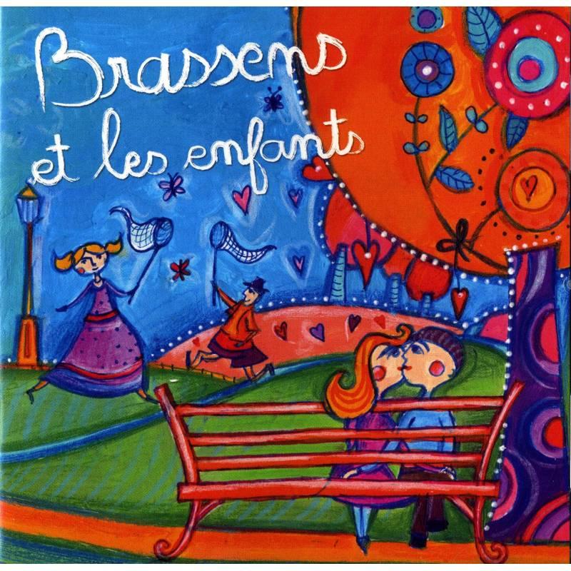 BRASSENS ET LES ENFANTS - 2 CD