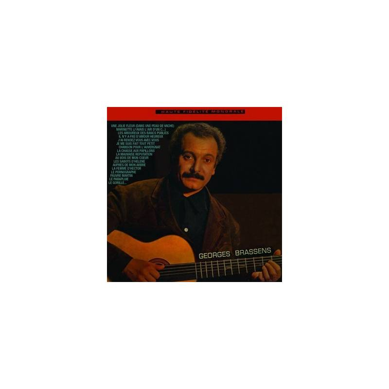 BRASSENS - CD GEORGES BRASSENS
