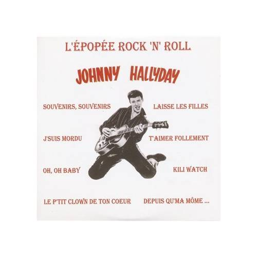 HALLYDAY JOHNNY - CD EPOPEE ROCK N ROLL VOL1