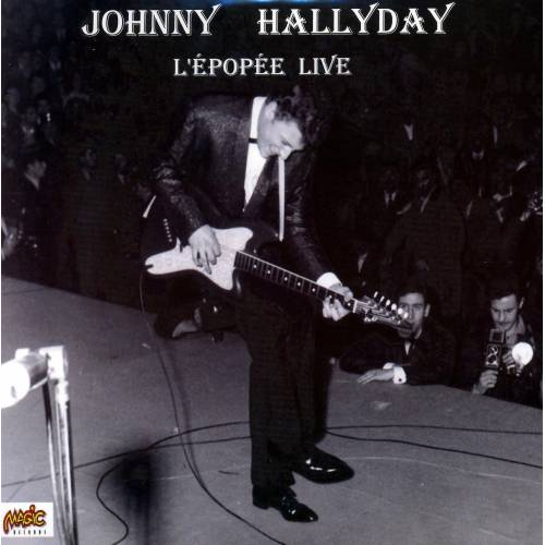 HALLYDAY JOHNNY - CD LIVE