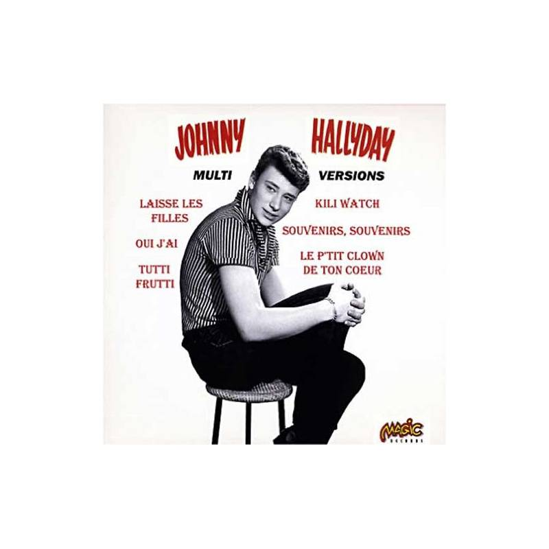 HALLYDAY JOHNNY - CD MULTI VERSIONS