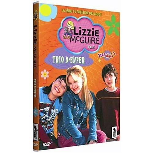 DVD - Lizzie McGuire Vol. 8 - Un trio d'enfer