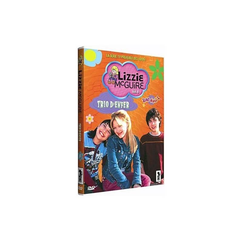 DVD - Lizzie McGuire Vol. 8 - Un trio d'enfer