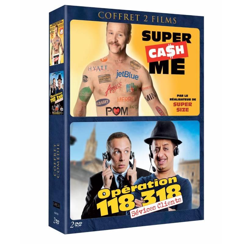 DVD - Coffret comédie - Opération 118 318 et Super cash me