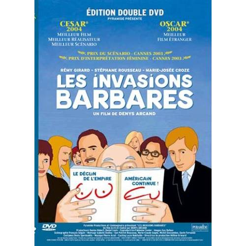 DVD - Les invasions barbares et Le déclin de l'empire américain