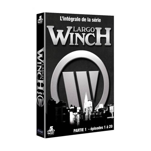 DVD - Largo Winch - Saison 1 - Partie 1 : Épisodes 1 À 20