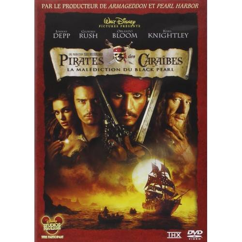 DVD - Pirates des Caraïbes : La malédiction du Black Pearl