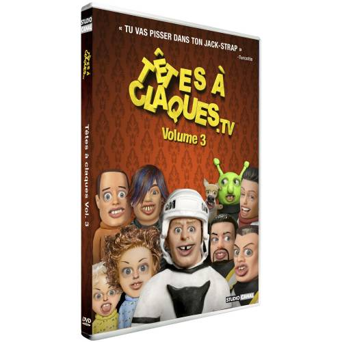 DVD - Têtes à claques TV Vol. 3