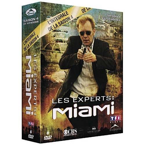 DVD - Les experts : Miami : Saison 4