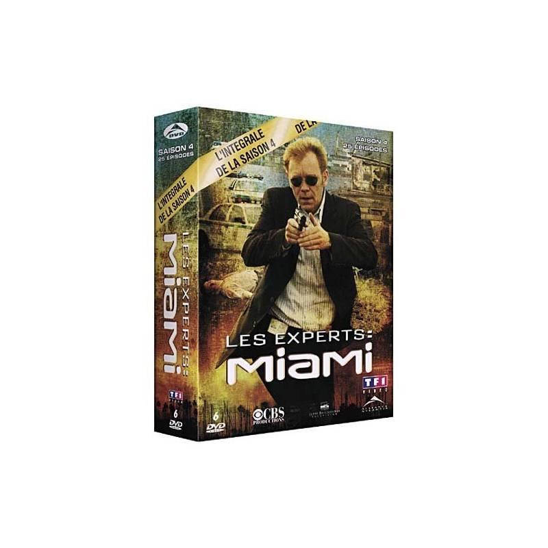 DVD - Les experts : Miami : Saison 4