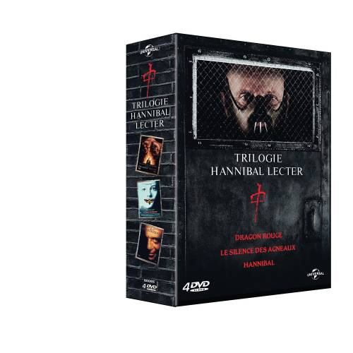 DVD - Hannibal Lecter - La trilogie : Le silence des agneaux ,Hannibal ,Dragon rouge