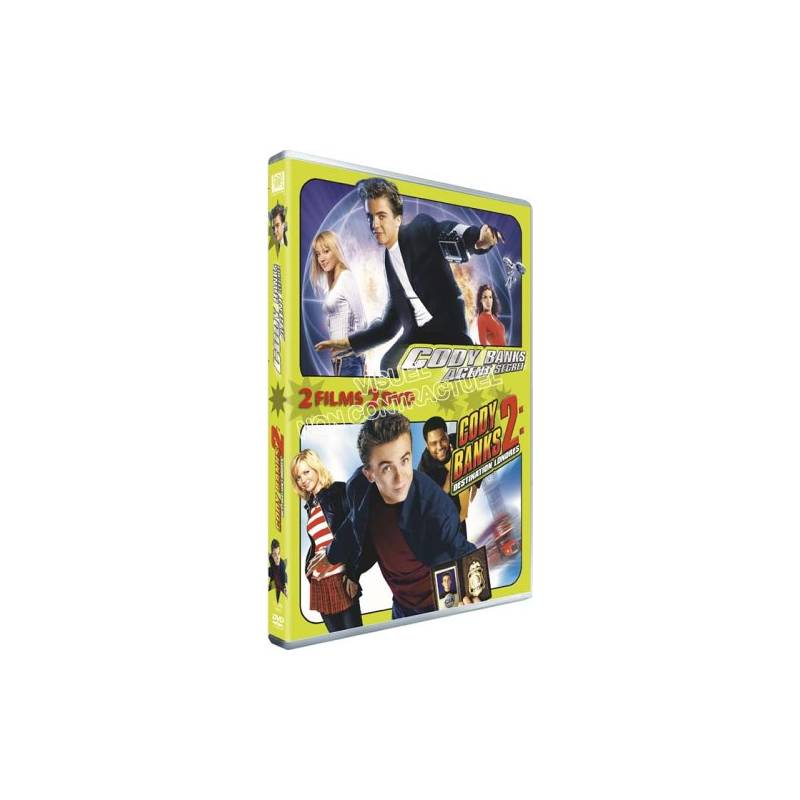 DVD - Cody Banks ,Cody Banks 2