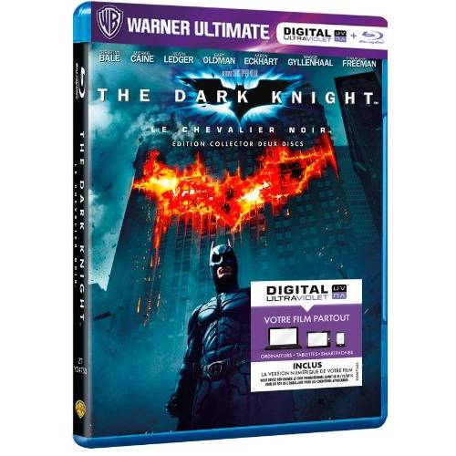 Blu-ray - The Dark Knight (Blu-ray et Digital Ultraviolet) - Edition Warner Ultimate